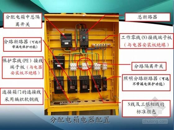 建筑工程施工临时用电基本知识讲义PPT(图文并茂)