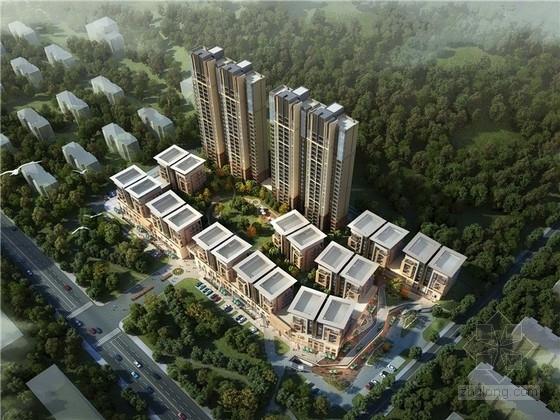 [福建]现代风格住宅小区规划设计方案文本(知名设计院)