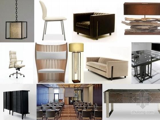 [张家界]知名国际假日酒店超五星級装修设计方案家具示意图