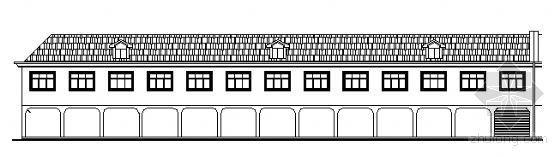 某二层临江营业房建筑施工图