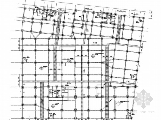 16层框架剪力墙结构酒店式公寓、临街商铺结构施工图