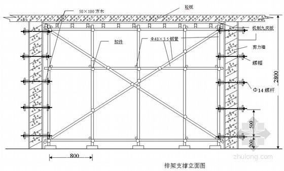 竹胶板模板施工方案