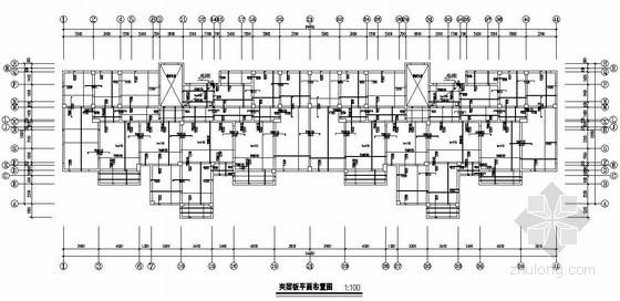 [江西]框架剪力墙结构住宅楼结构施工图(13层 独立基础)