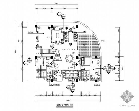 复式别墅施工图