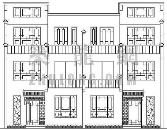 常州某设计院竞赛别墅作品建筑设计方案