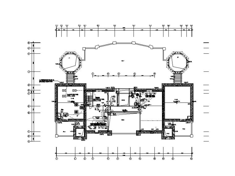 福建知名地产综合楼电气施工图