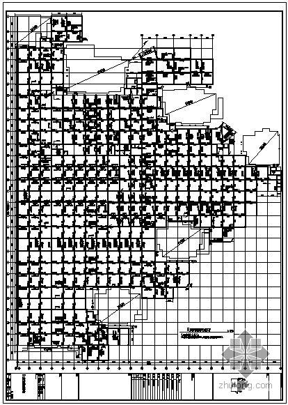 南昌某框架地下室人防结构设计图