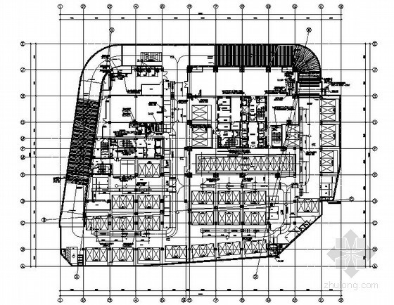 [天津]175米商业综合楼空调通风设计施工图
