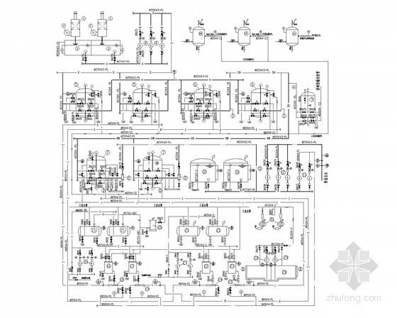 [北京]某自备热电厂设备设计图纸