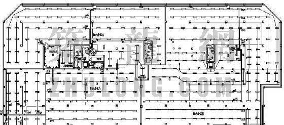 某住宅楼地下车库电气图纸