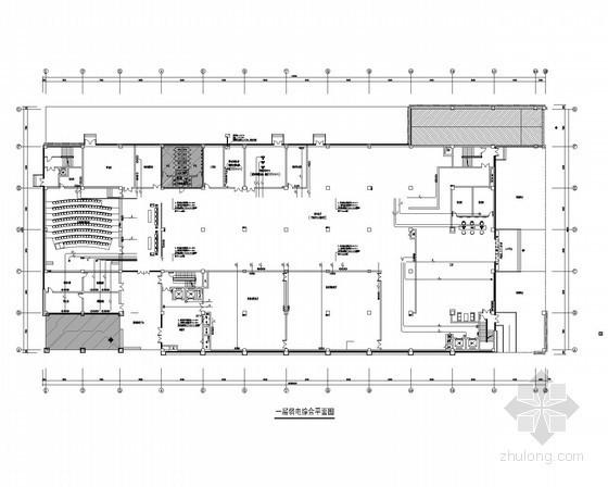 [浙江]档案馆弱电智能化系统施工图(甲级设计院)