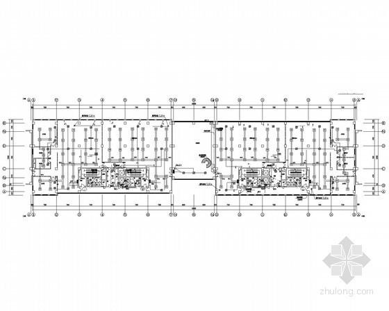 [天津]9层办公楼电气施工图(甲级院设计)
