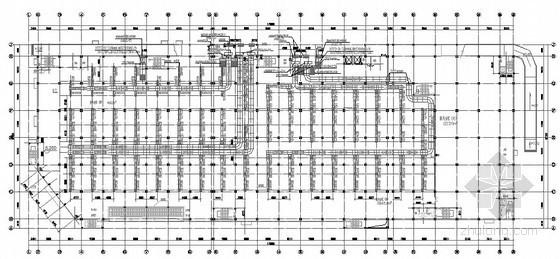 [上海]大型购物中心空调设计施工图