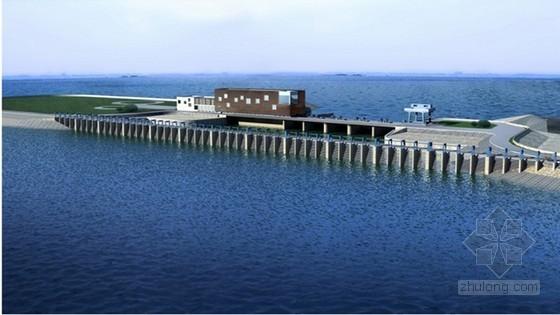 [毕业设计]南水北调一线工程水库入库泵站工程施工投标书(商务标 技术标)