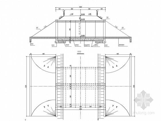 2x3m钢筋混凝土圆管涵设计套图(9张)