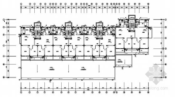 某六层带底商住宅给排水图纸