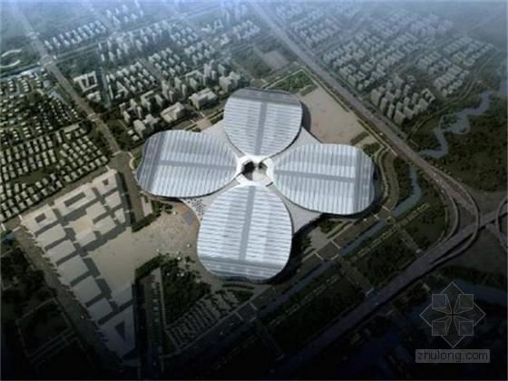[上海]大型会展综合体项目总承包工程施工组织设计(附图齐全 246页)