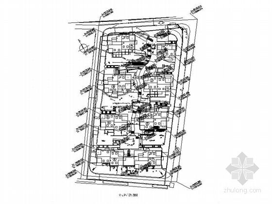 [杭州]某公寓景观全套景观施工图(知名设计公司)