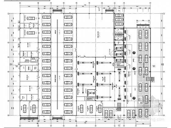 [广东]多层汽车展览馆空调通风系统设计施工图