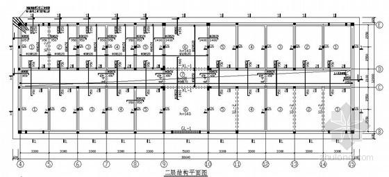 二层砌体办公楼结构设计图