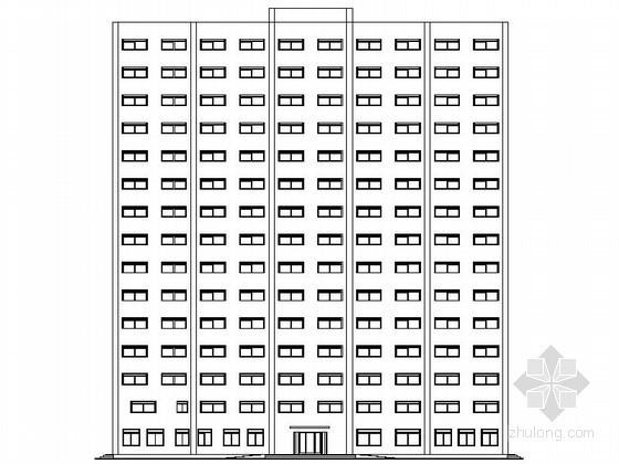 [毕业设计]某十五层旅馆建筑扩初图