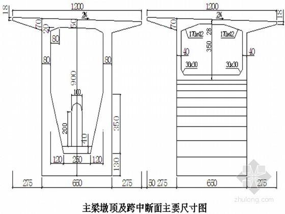 特大桥工程超高墩大跨预应力连续刚构悬灌线型控制技术