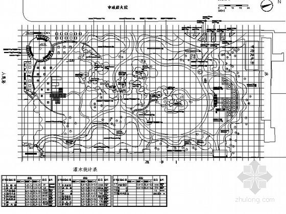 小型公园园林景观工程施工图