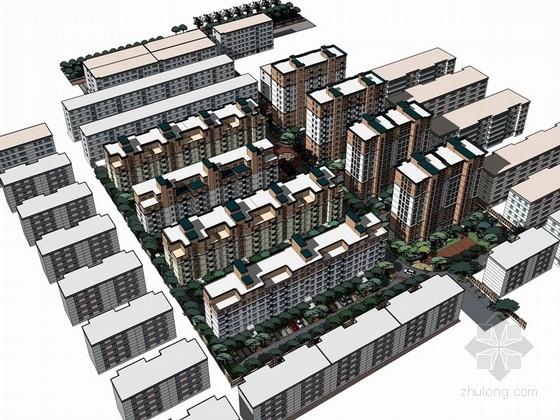 [河南]健康生活阳光户型住宅景观规划方案