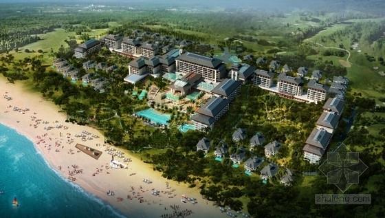 [海南]东南亚风格度假酒店建筑设计方案文本