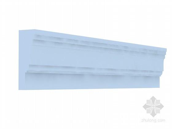 石膏角线3D模型下载