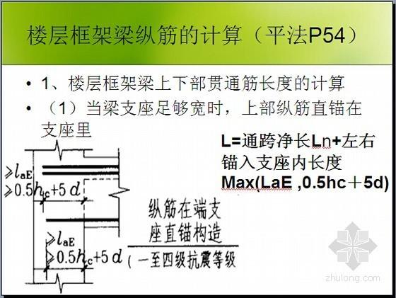 [实用]平法钢筋梁、板、柱工程量计算图文讲义(一图一算143页)