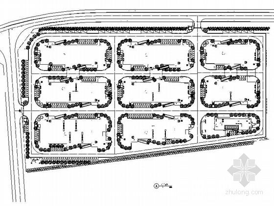 [重庆]现代化工业园区景观规划设计施工图