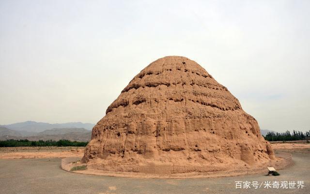"""中国""""最低调""""的皇陵:全部用土建造,却被称为东方金字塔_2"""