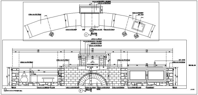 烧烤台设计详图