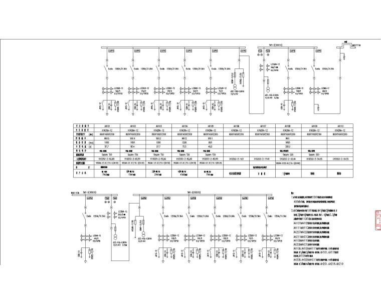 汉裕金谷-电气设计全套施工图(含10KV配电、10/0.4KV变配电系统,建筑设备监控系统)_9