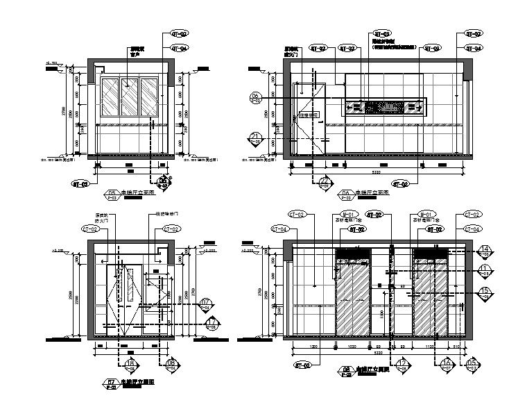 [福州]公区设计精装修施工图(效果图+物料表)_4