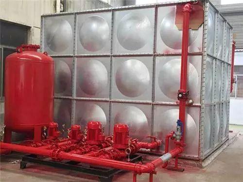 高层建筑高位消防水箱设计