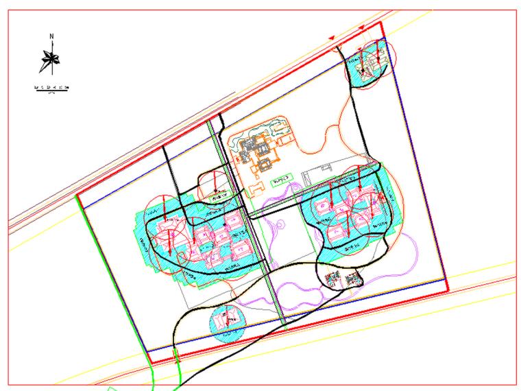 钢构件堆场