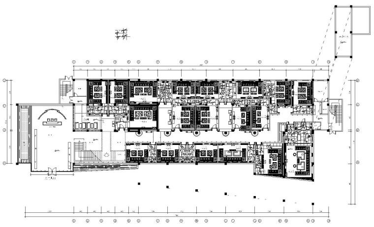 [河南]皇家一号娱乐会所施工图设计(附效果图)