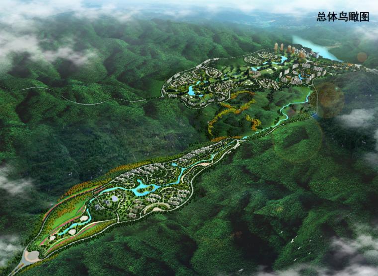 全套阳山森林公园项目总体策划及概念规划设计方案文本