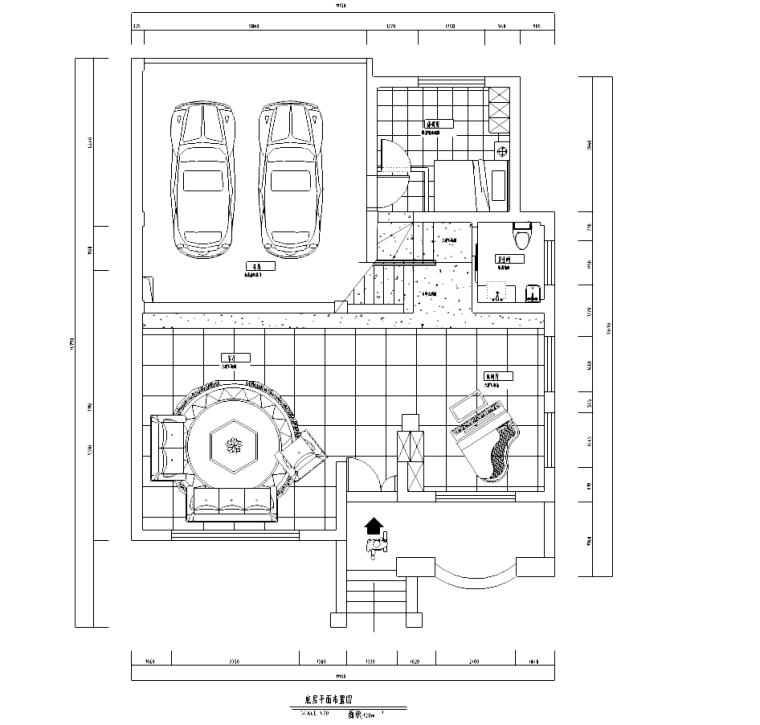 [浙江]某别墅现代风格施工图及效果图