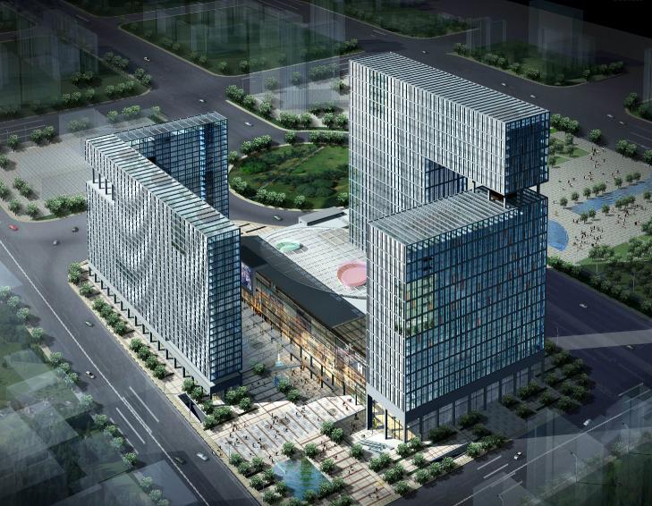 [安徽]华远金外滩北区住宅建筑概念规划设计方案文本