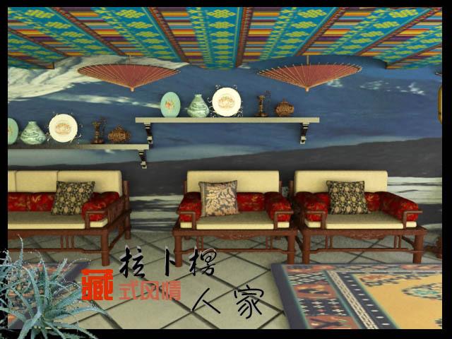 拉卜楞人家-雪域餐厅设计_20