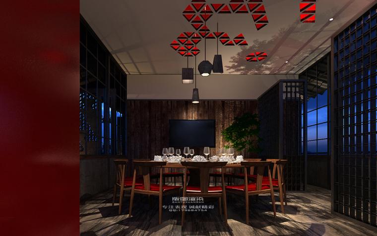 东莞版图效果图表现设计★★★最新销售中心.样板房.餐饮作品-001 (8)