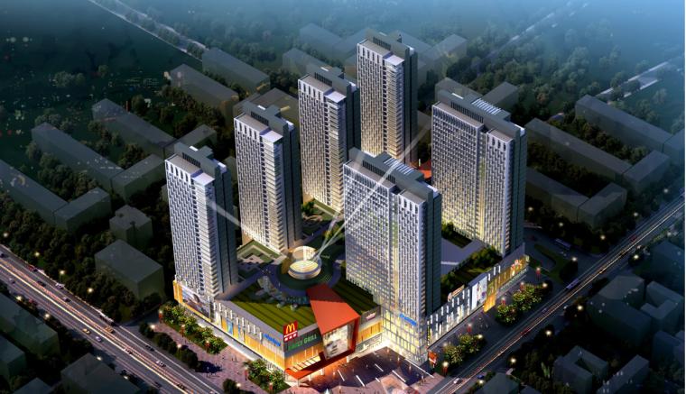 邯郸创鑫商业广场建筑设计方案