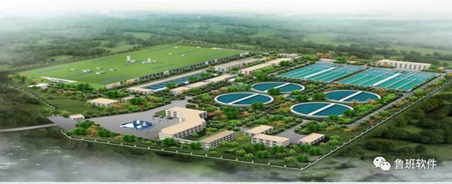 [BIM案例]昆山地埋式污水处理厂工程BIM技术应用