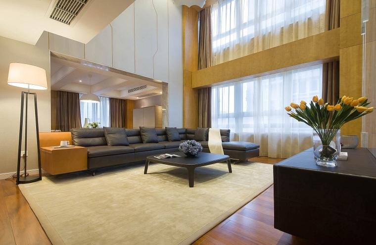 现代风格的住宅