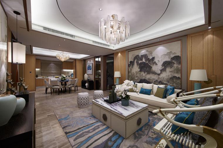 现代新中式风格的住宅