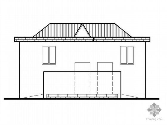 [合集]20套建筑小品——公厕建筑施工图及方案文本_21