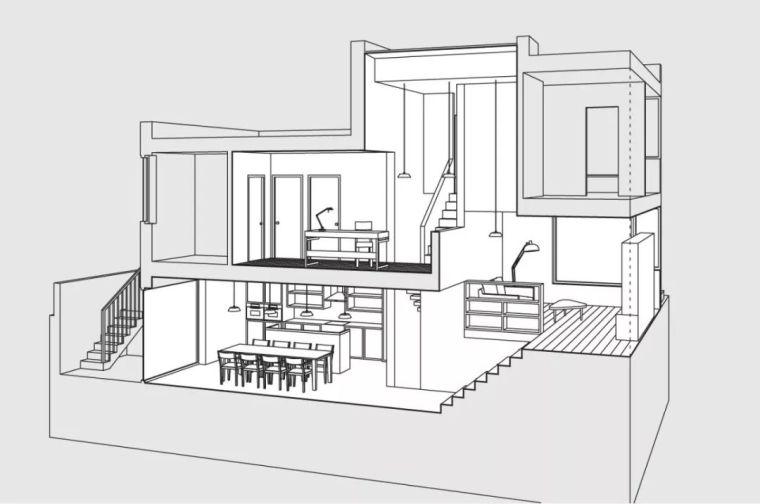 建筑师独立开发的公寓楼,真是好房子!_14
